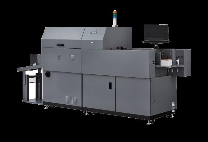 DUPLO DUSENSE הדפסת UV תלת מימדי בגבהים משתנים בדפוס הדיגיטלי של גרפצ'יק